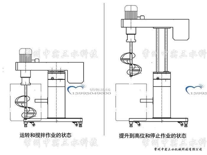 搅拌器接线原理图