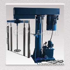 刮壁式同轴液压升降分散机